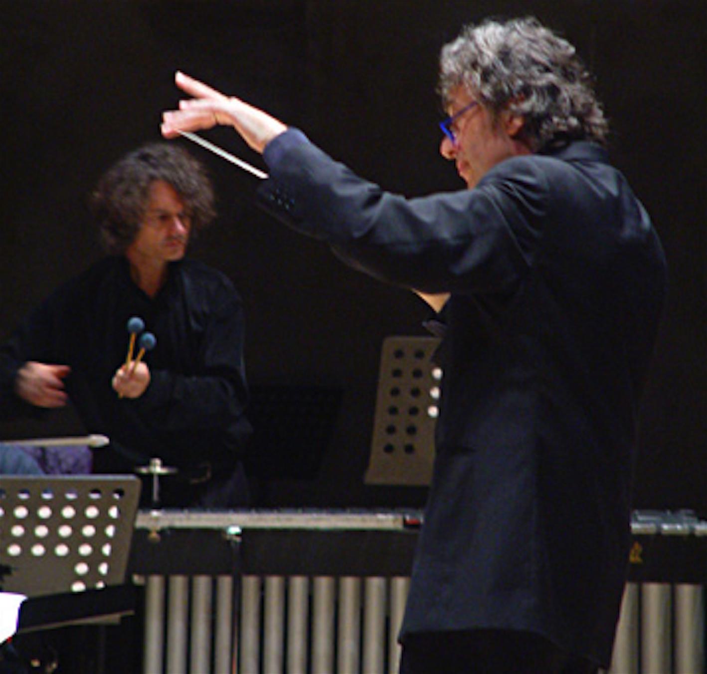 THIERRY MIROGLIO E ALBERTO CAPRIOLI, PHOTO SETTEMBRE MUSICA, 2006