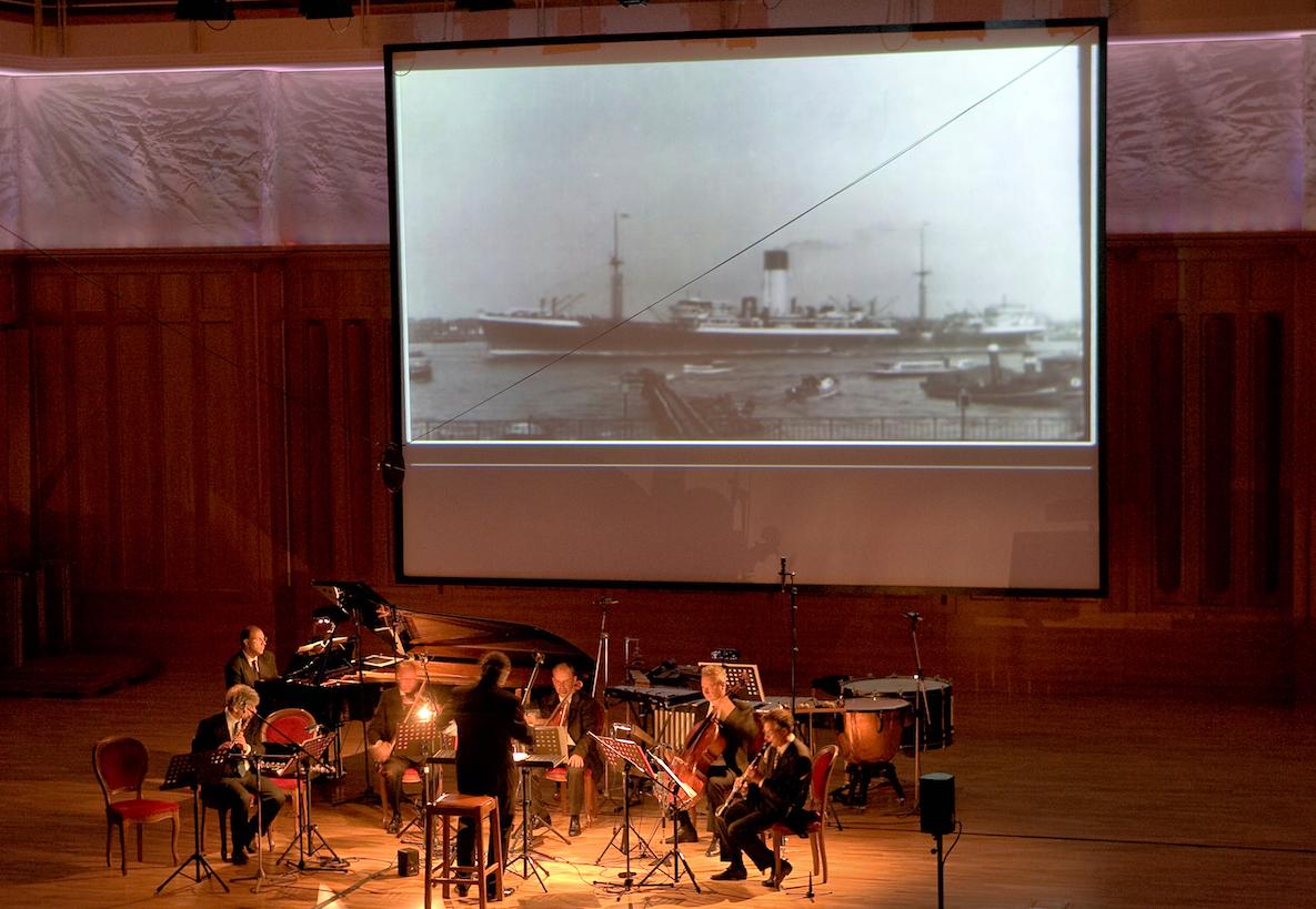 ALBERTO CAPRIOLI, EX NOVO ENSEMBLE DOBBIACO, GUSTAV MAHLER MUSIKWOCHEN, LUGLIO 2008 © MAX VERDOES