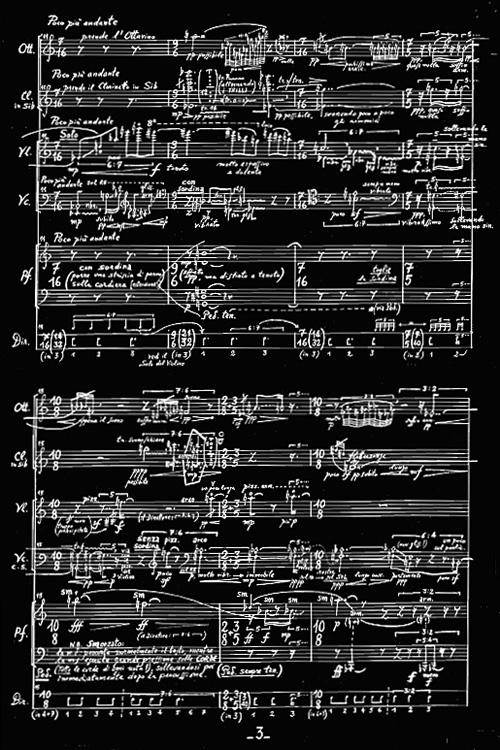 ALBERTO CAPRIOLI, VOR DEM SINGENDEN ODEM (1990), PAG. 3 DELLA PARTITURA