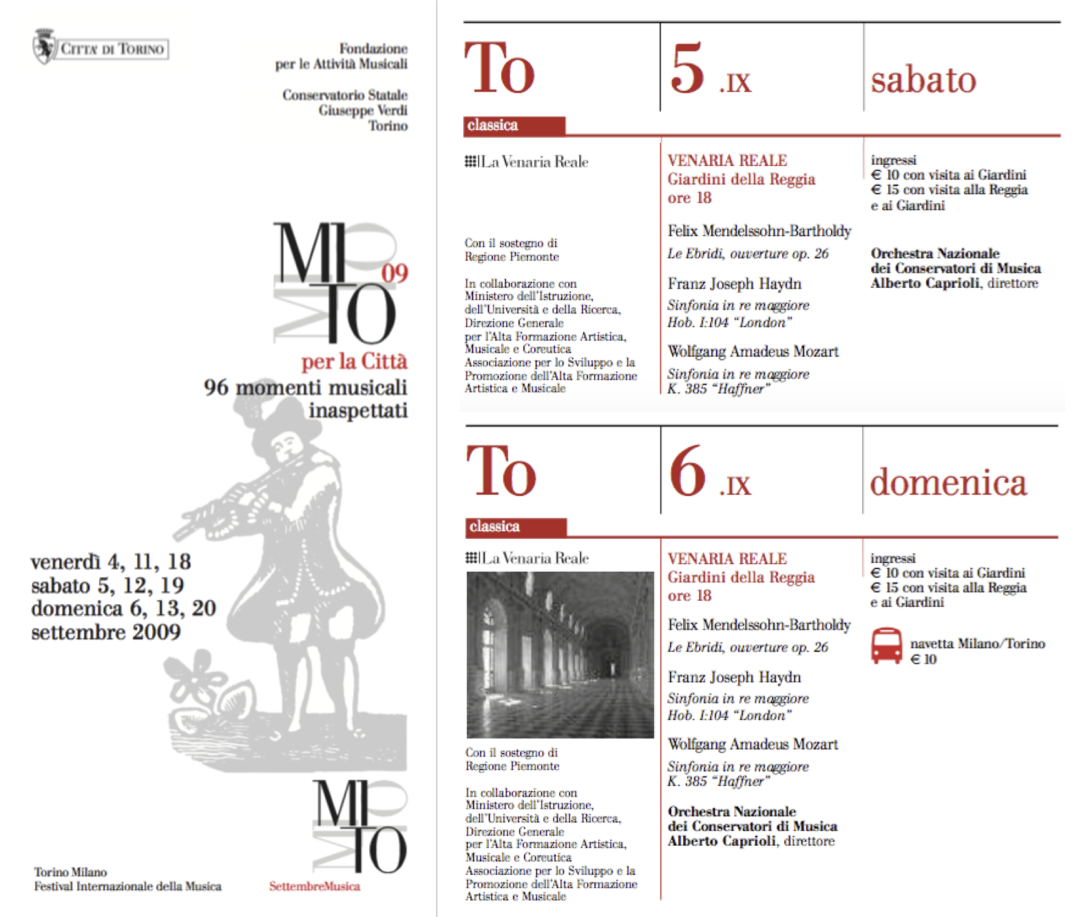 MITO SETTEMBRE MUSICA 2009