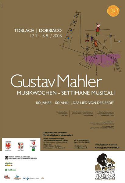 SETTIMANE MUSICALI GUSTAV MAHLER, DOBBIACO 2008